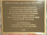 Memorial Committee Members Dedication Plaque