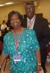 Class of 1956 - Claudette Johnson Green and her husband Melvin Green